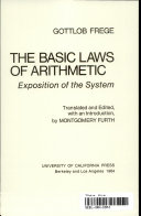 The Basic Laws of Arithmetic