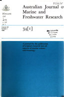 Australian Journal Of Marine And Freshwater Research
