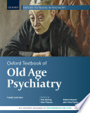 Oxford Textbook of Old Age Psychiatry Book