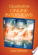 """""""Qualitative Online Interviews: Strategies, Design, and Skills"""" by Janet Salmons"""
