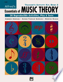 Alfred s Essentials of Music Theory Book PDF