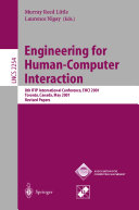 Engineering for Human Computer Interaction