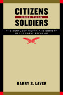 Citizens More Than Soldiers Book