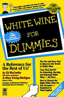 White Wine For Dummies Book