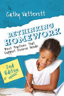 """""""Rethinking Homework, 2nd Edition: Best Practices That Support Diverse Needs"""" by Cathy Vatterott"""