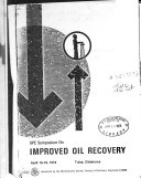 Fifth Symposium On Improved Methods For Oil Recovery Book PDF