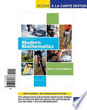 Excursions in Modern Mathematics, Books a la Carte Edition