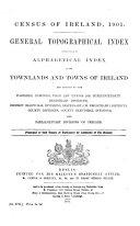 Census of Ireland  1901 Book PDF