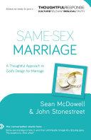 Same-Sex Marriage (Thoughtful Response) Pdf/ePub eBook