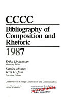CCCC Bibliography of Composition and Rhetoric 1987