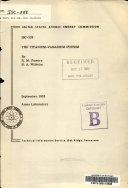 The Titanium vanadium System Book