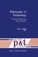 Pdf Philosophy of Technology