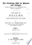 The Book of Psalms: Book I, Psalms i-xli