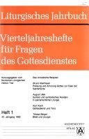Liturgisches Jahrbuch