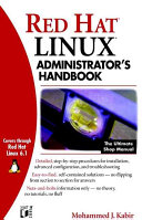 Red Hat  Linux  Administrator s Handbook Book