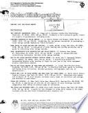 Solar Bibliography