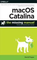 macOS Catalina: The Missing Manual [Pdf/ePub] eBook