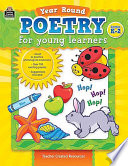 Year Round Poetry for Young Learners Book