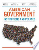 American Government, Essentials Edition: Institutions and Policies