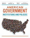 American Government Essentials Edition Institutions And Policies