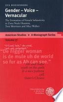 Gender, voice, vernacular