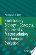 Evolutionary Biology     Concepts  Biodiversity  Macroevolution and Genome Evolution Book