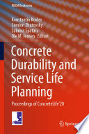 Concrete Durability and Service Life Planning