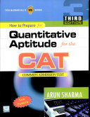 How to Prepare for Quantitative Aptitude for the CAT  Third Edition