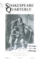 Shakespeare Quarterly