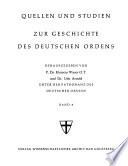Die Hochmeister des Deutschen Ordens und die Ballei Koblenz