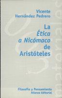 La ética a Nicómaco de Aristóteles