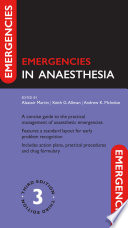 Emergencies in Anaesthesia 3e Book