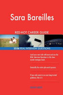Sara Bareilles Red Hot Career Guide  2556 Real Interview Questions