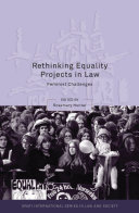 Rethinking Equality Projects in Law Book