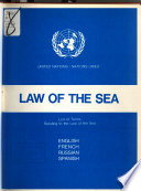 Law of the Sea Terminology ...