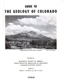 Guide to the Geology of Colorado