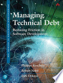 Managing Technical Debt