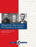 Milestone Documents Of American Leaders