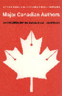 Major Canadian Authors