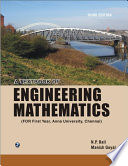 A Textbook of Engineering Mathematics (For First Year ,Anna University)