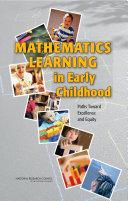 Mathematics Learning in Early Childhood Pdf/ePub eBook