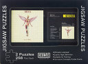 Two Nirvana in Utero Jigsaw Puzzles in Tin Gift Box - 2 Each, 256 Pieces