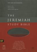 The Jeremiah Study Bible  NKJV  Charcoal Burgundy Leatherluxe r  W Thumb Index