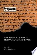 Wisdom Literature in Mesopotamia and Israel