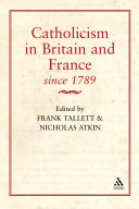 Catholicism in Britain & France Since 1789 Book