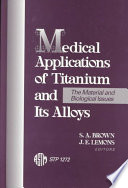 Medical Applications Of Titanium And Its Alloys Book PDF
