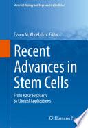 Recent Advances In Stem Cells Book PDF