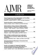 American Journal on Mental Retardation