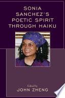 Sonia Sanchez s Poetic Spirit through Haiku Book PDF