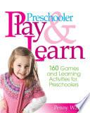 Preschooler Play   Learn
